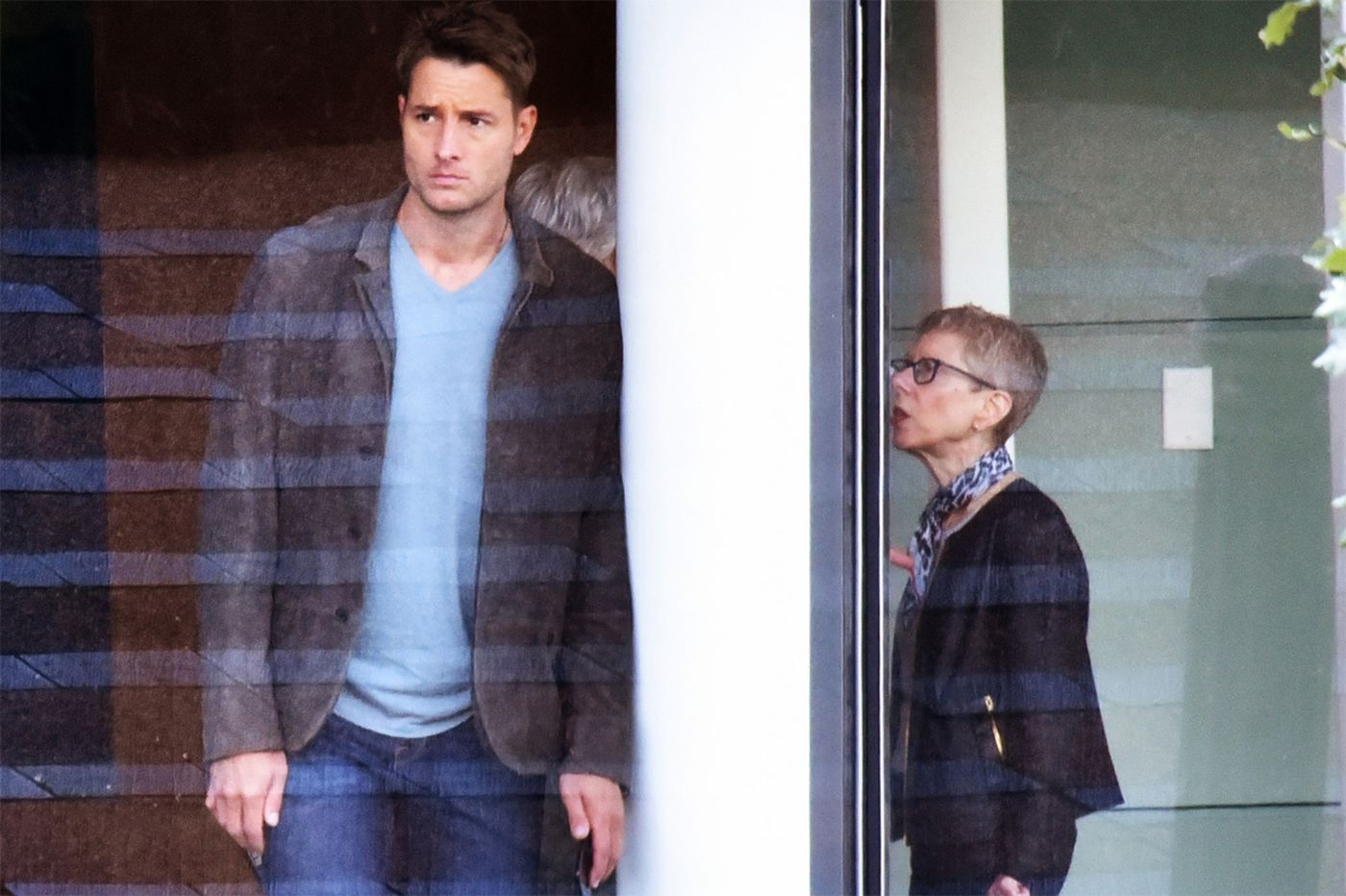 NBC's 'This Is Us' films scene at WHYY studios, Terry Gross makes an appearance