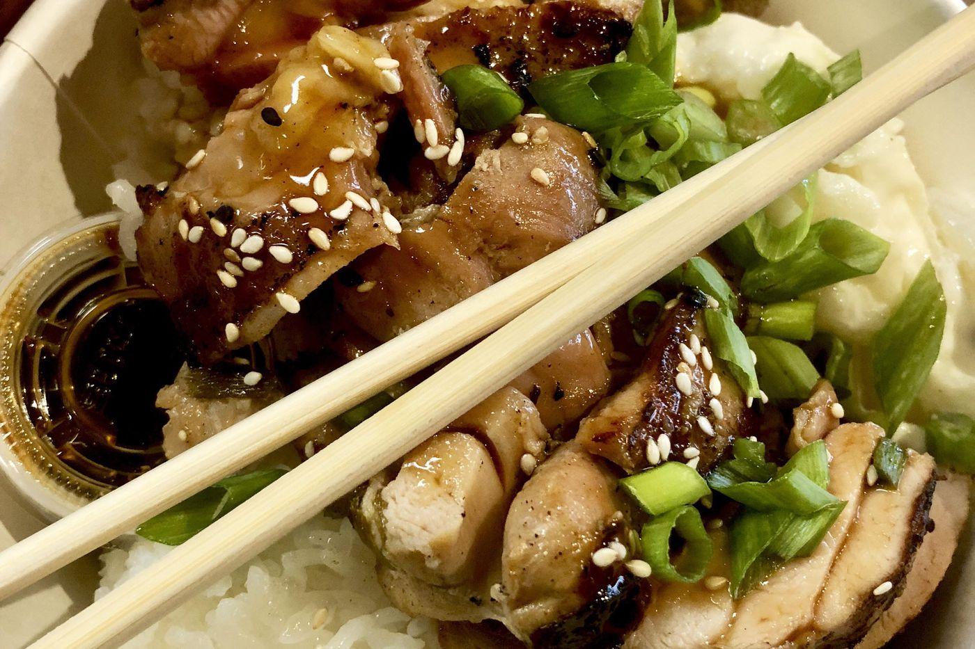 Seattle teriyaki is a thing at Seattle Teriyaki in Center City