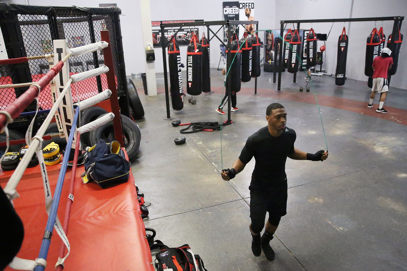 Pennsauken police officer Charles Brewer Jr. follows his dad's footsteps into the boxing ring