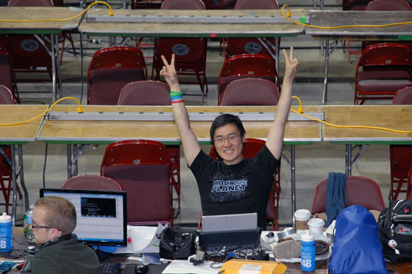 Student computer whizzes compete at PennApps Hackathon