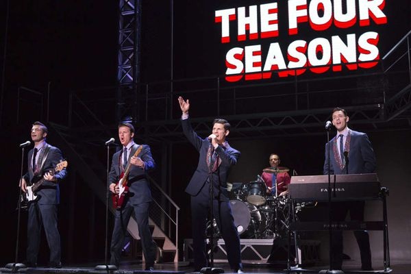 Leads in 'Jersey Boys,' back at the Forrest, must prove their mettle