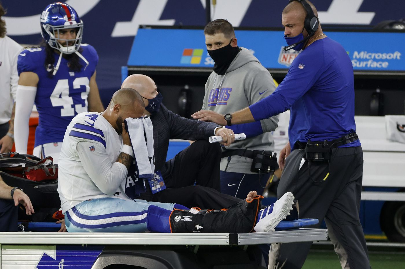 Only in the NFC East: Cowboys still the favorites after Dak Prescott's injury