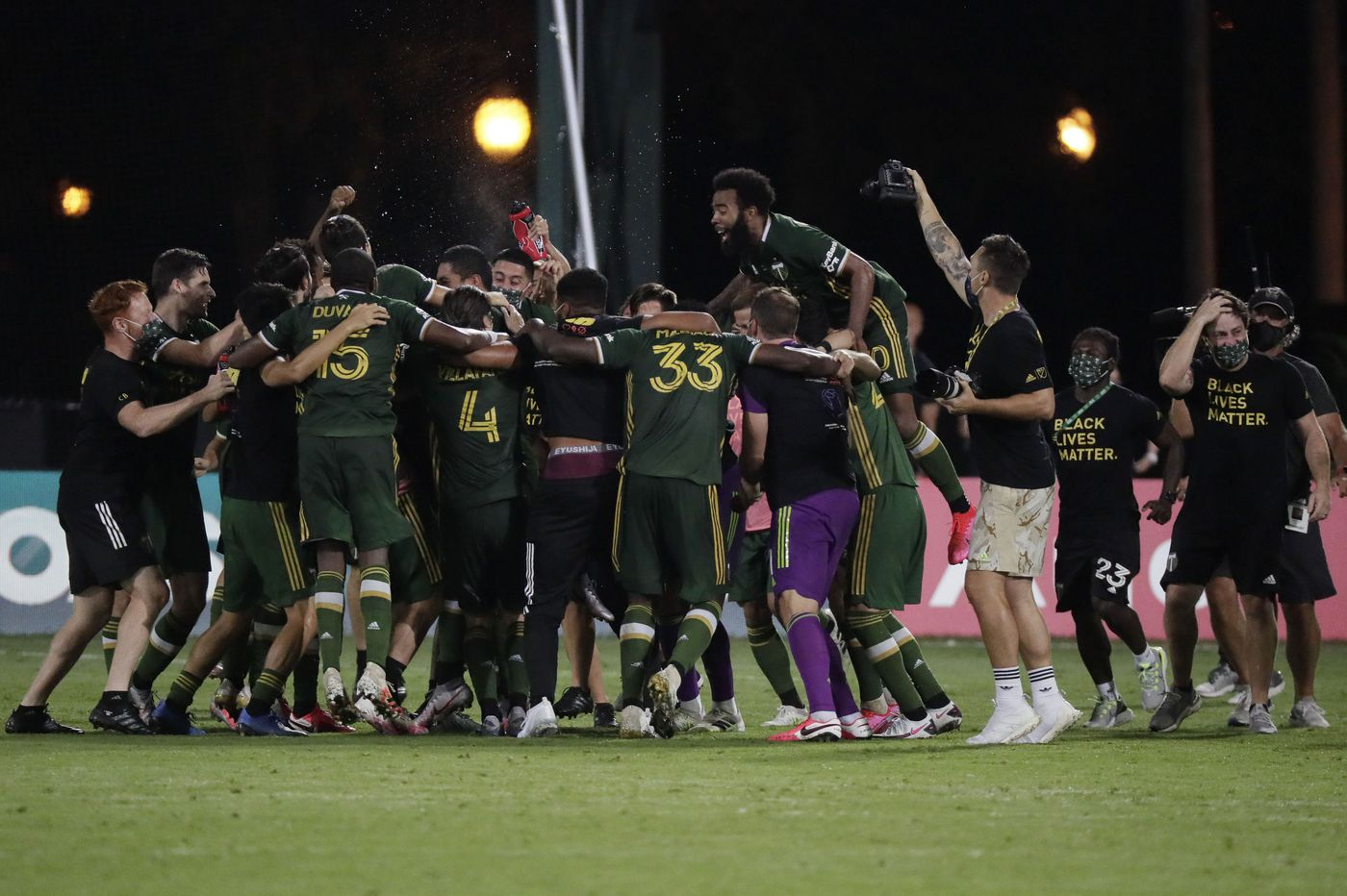 Portland beats Orlando 2-1 in MLS tournament final