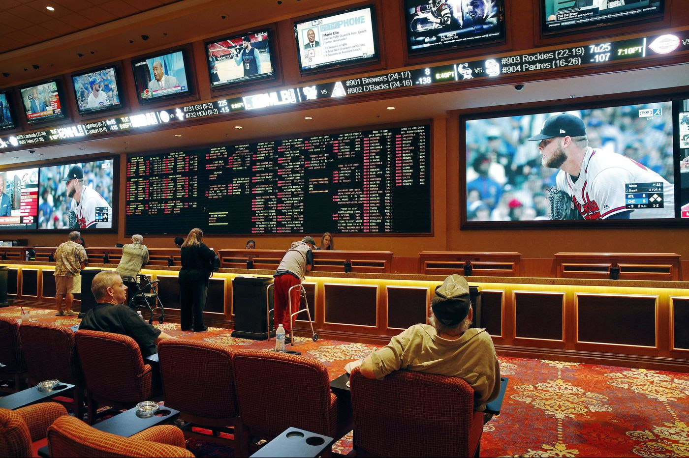 While Ocean Resort revels in its sportsbook, the Hard Rock is silent