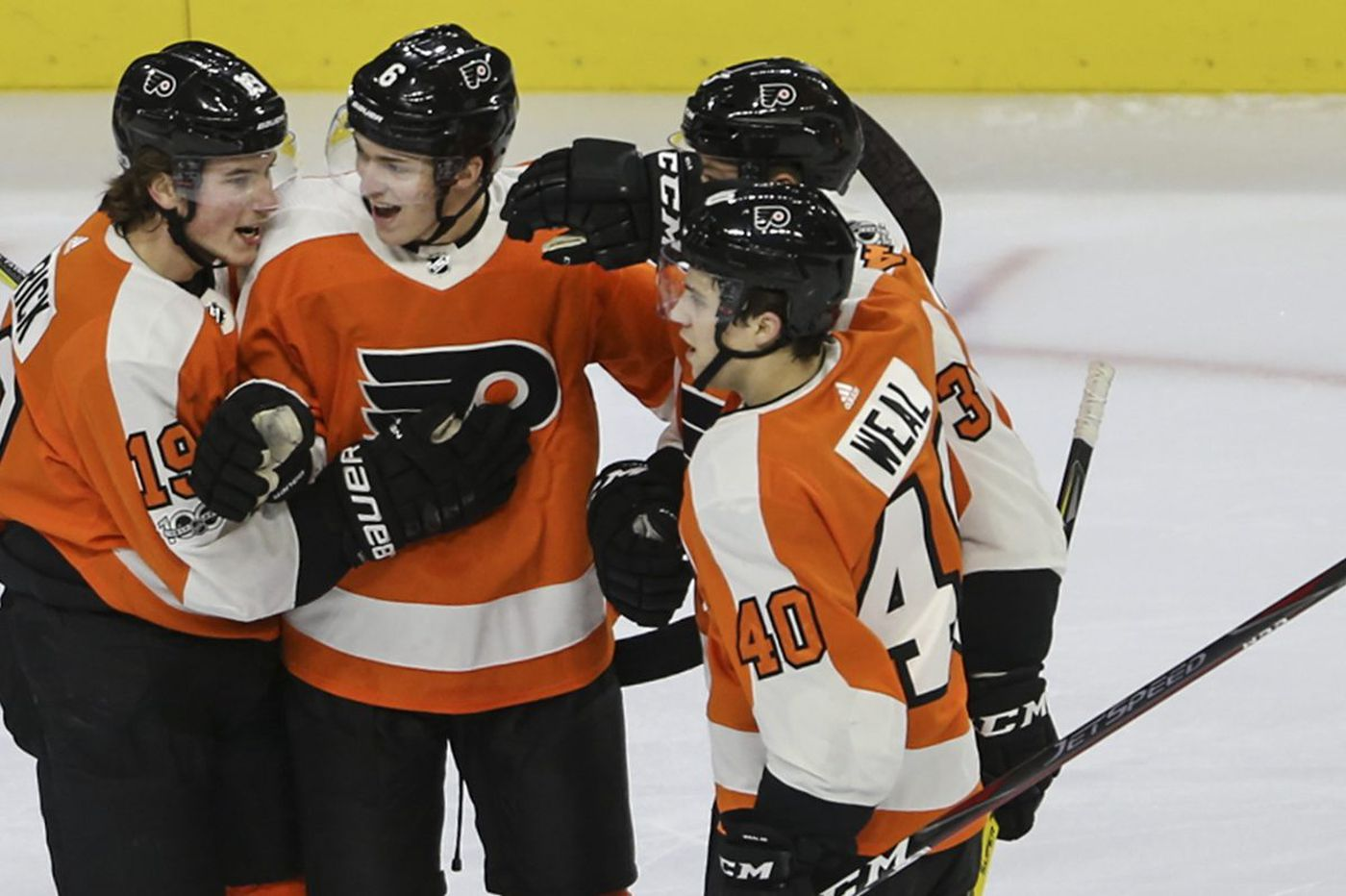 Flyers-Sabres observations: Ivan Provorov shines, Nolan Patrick to the rescue