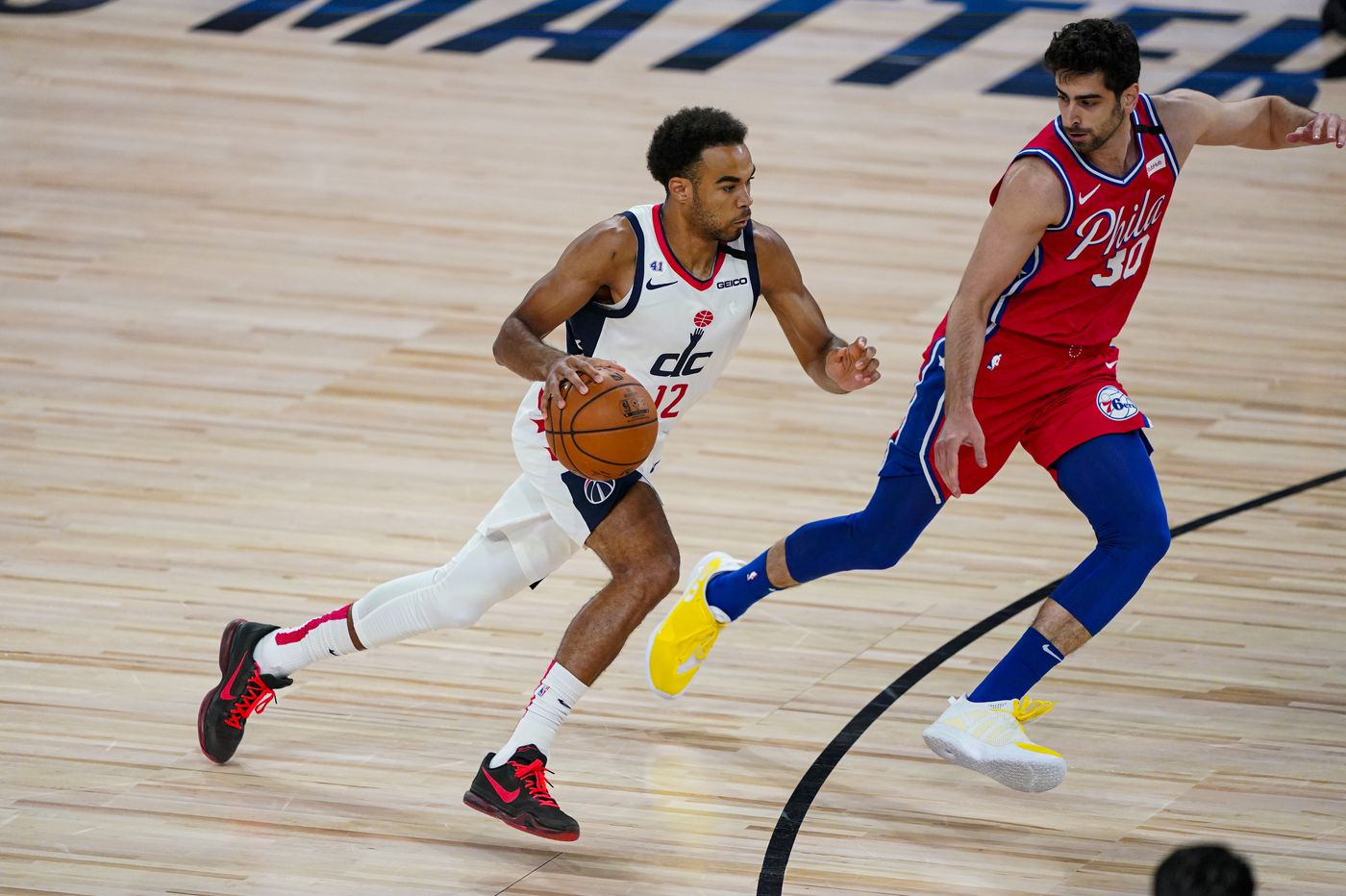 The Sixers' Furkan Korkmaz is ready to show what he can do at both ends of the court vs. the Celtics