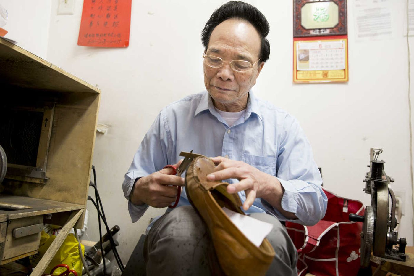Immigrant spirit at work in Chinatown repair shop