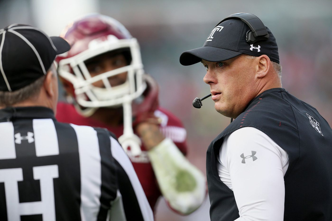 Geoff Collins has Temple playing Above the Line, by design | Mike Jensen
