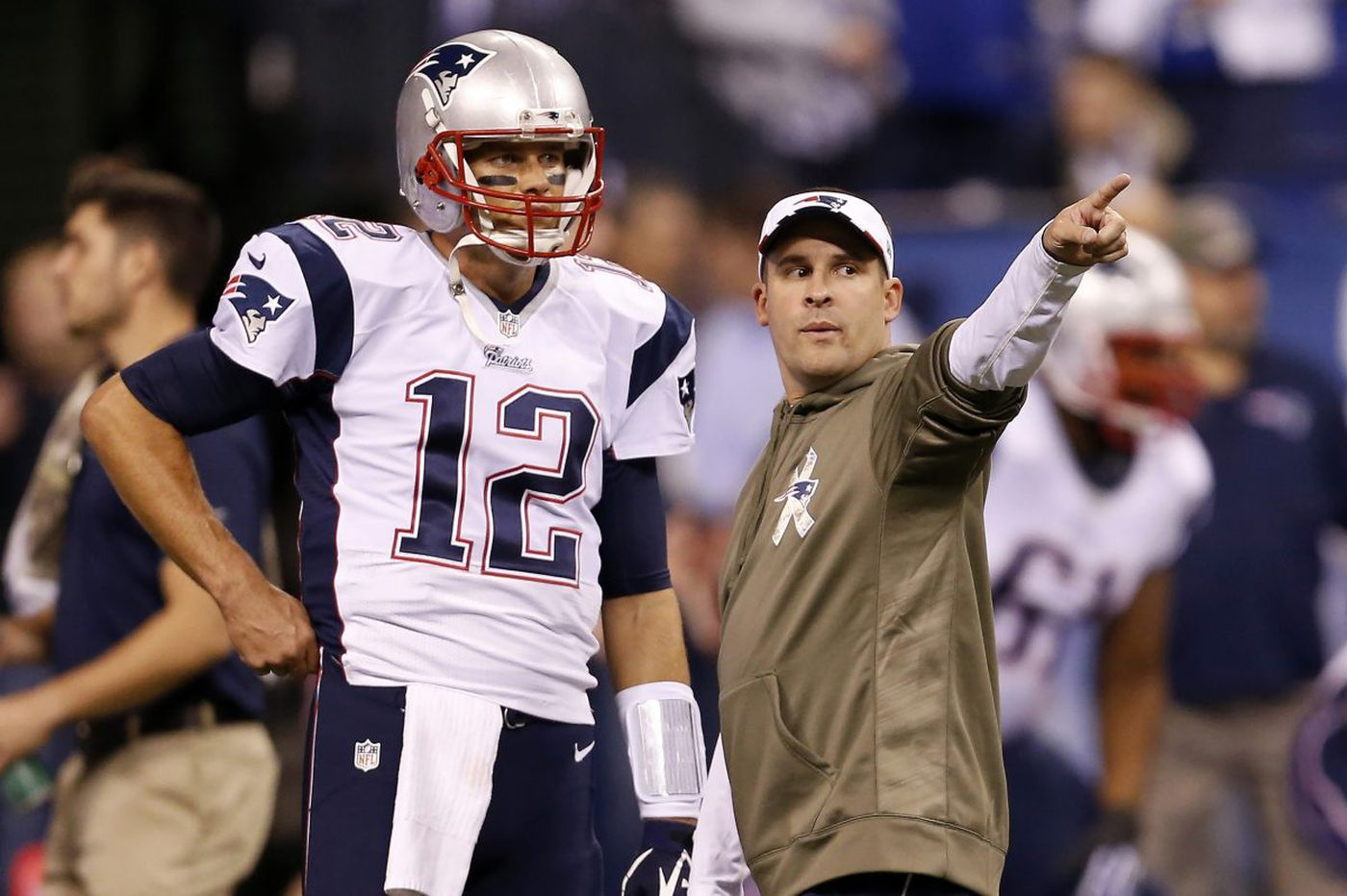 Patriots offensive coordinator Josh McDaniels looking for grand finale against the Eagles