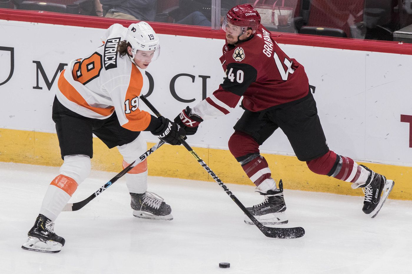 Flyers seek to hold their edge at home against Coyotes