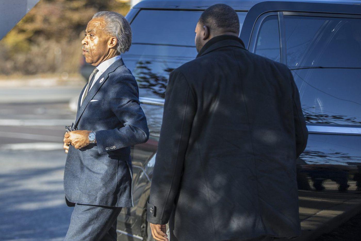 Rev. Al Sharpton visits imprisoned Philly rapper Meek Mill