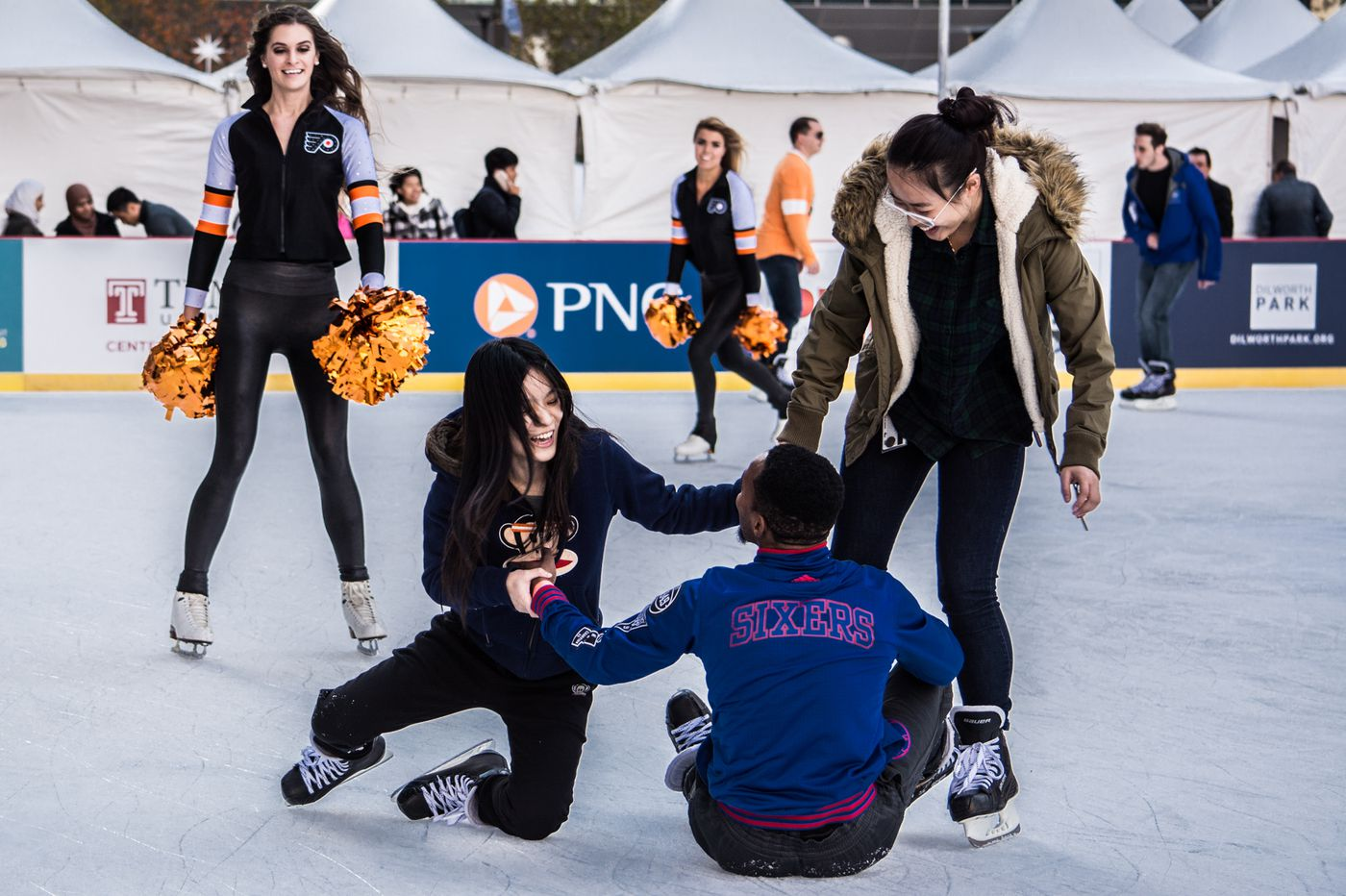 Dilworth Park announces ice skating rink hours for this winter