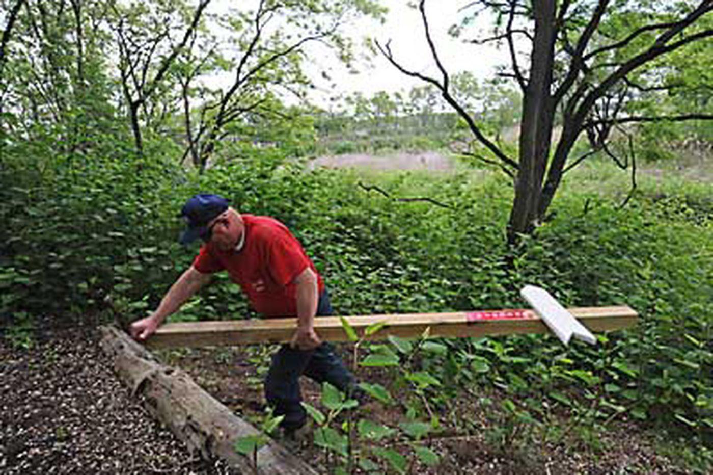 Delanco fights for river trails