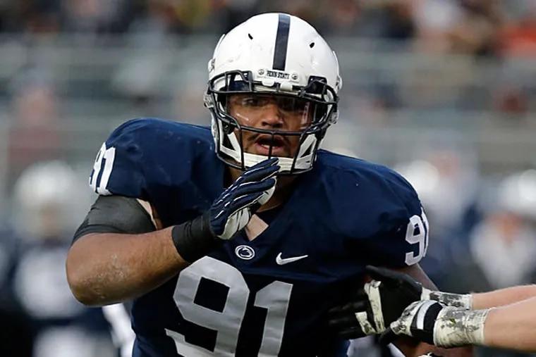 Former Penn State defensive lineman DaQuan Jones. (Gene J. Puskar/AP)