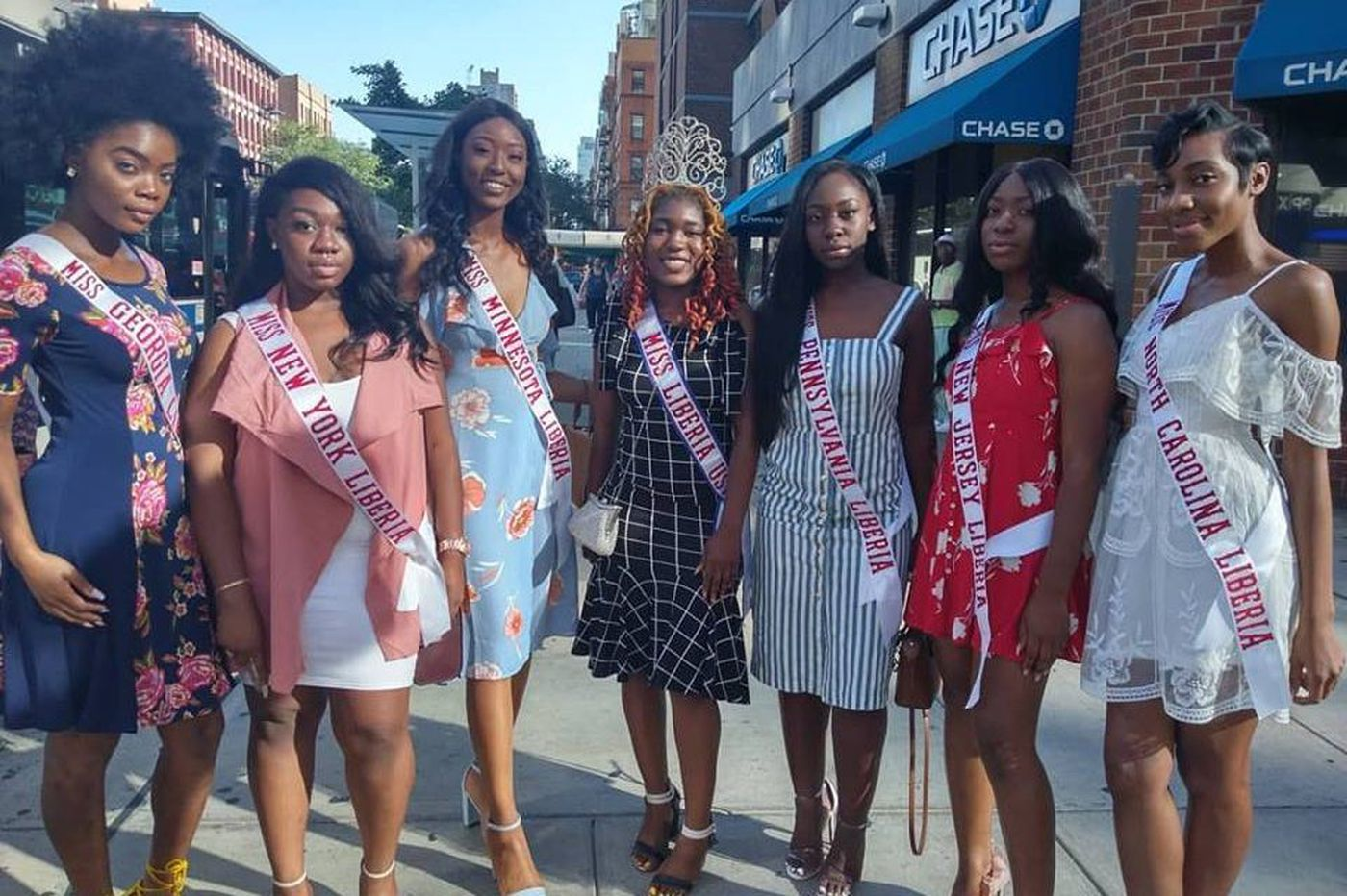 Why a crew of Liberian-American beauty queens just descended on Philadelphia
