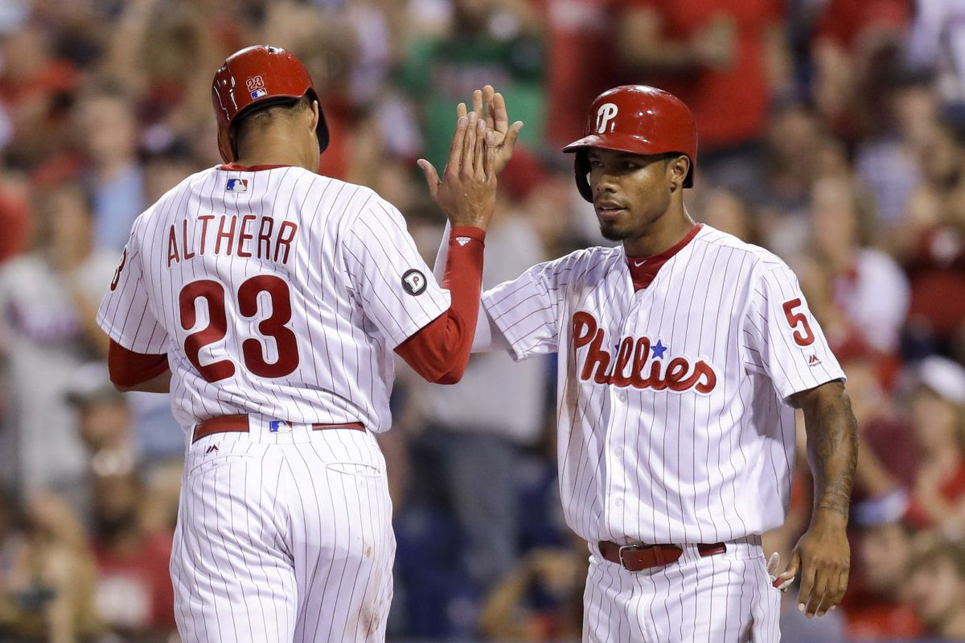 Phillies spring training: Nick Williams, Aaron Altherr ready for outfield shuffle