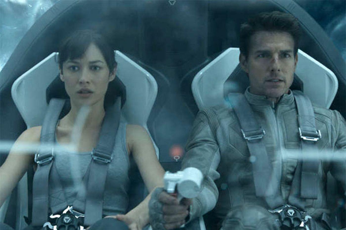 Elements of past sci-fi films in 'Oblivion'