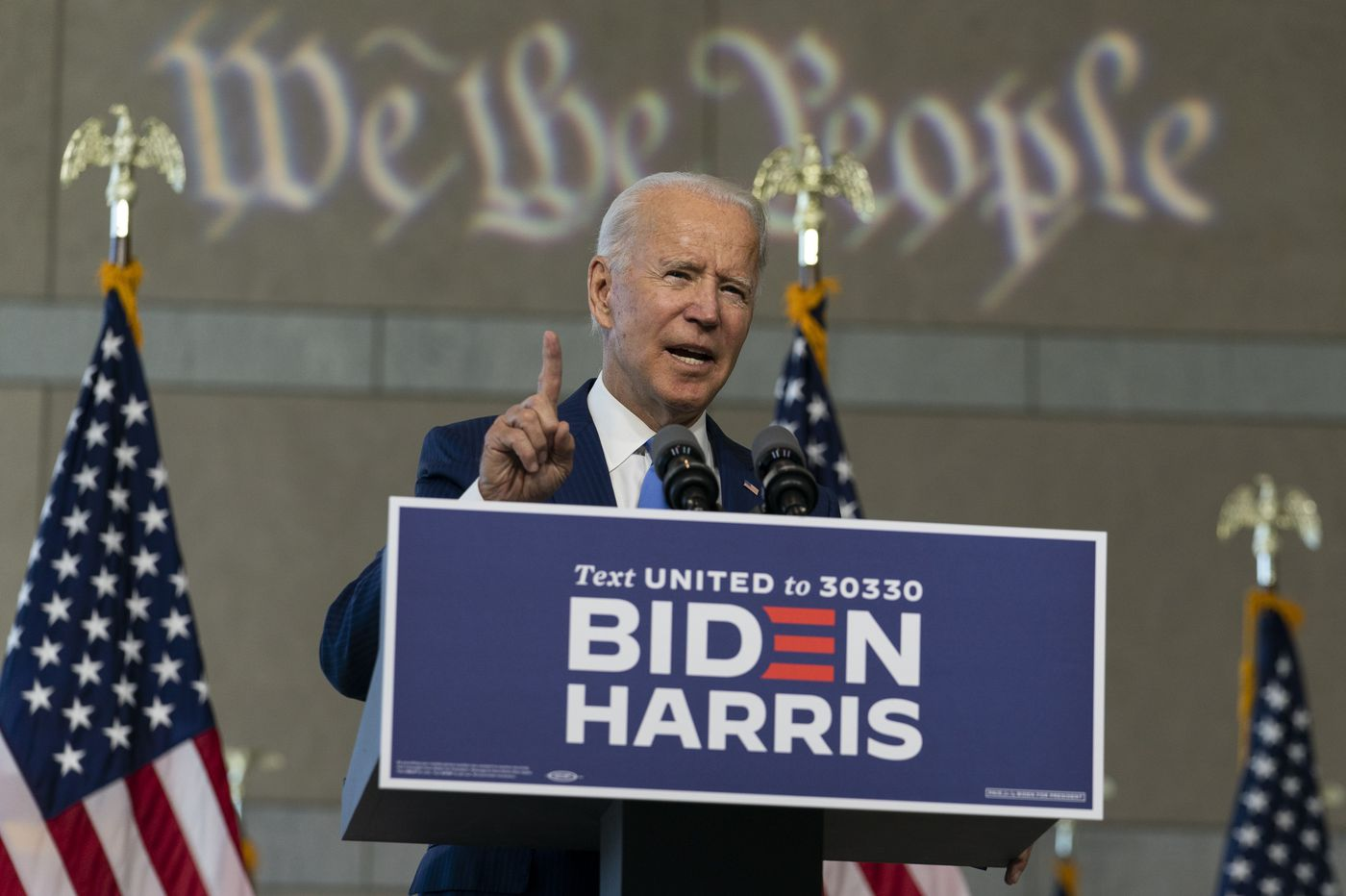 Biden maintains an edge over Trump in new Pa. poll, as pessimism over coronavirus and the economy looms