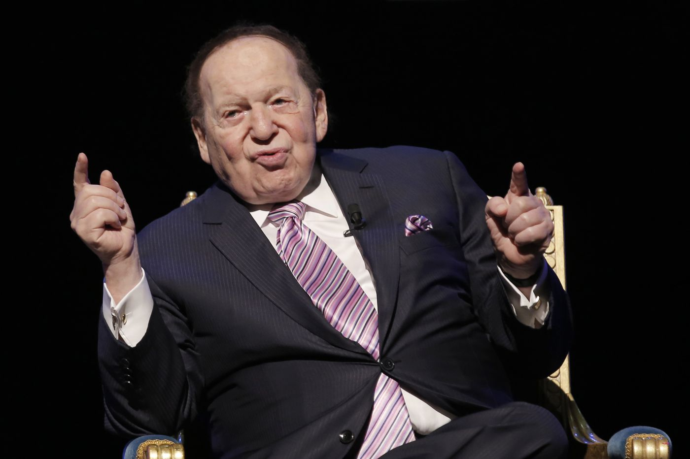 Sheldon Adelson, Las Vegas Sands founder and GOP power broker, dies
