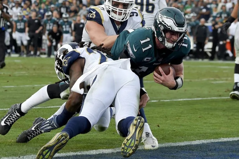 The Philadelphia Eagles' 2017 changed dramatically when quarterback Carson Wentz injured the ACL in his left knee during the Week 14 win at the Los Angeles Rams.