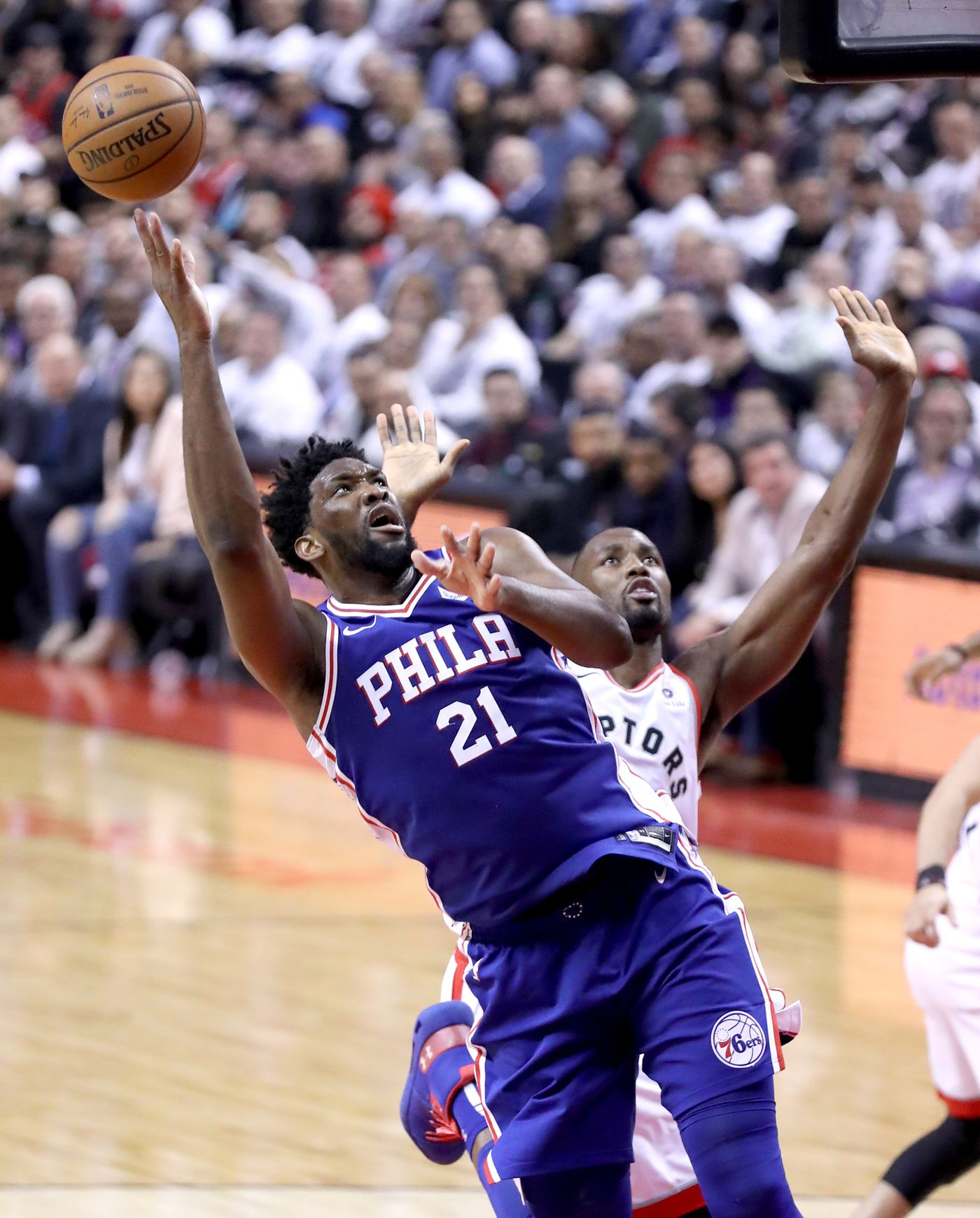 Sixers' Joel Embiid wants to score more against the Raptors, but