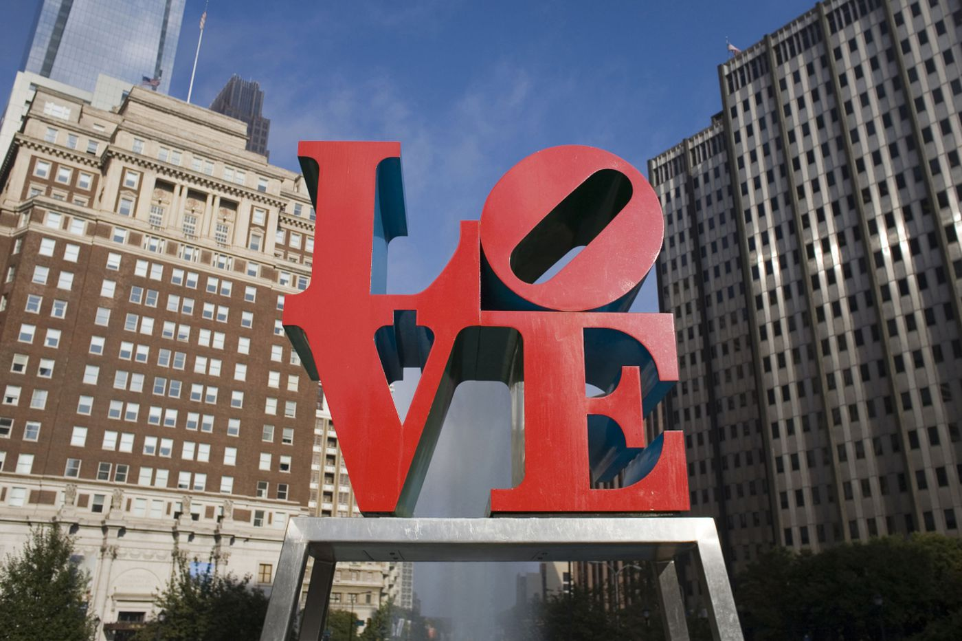 LOVE statue to leave town for repairs