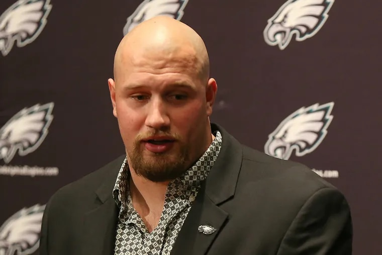 Philadelphia Eagles' right tackle Lane Johnson has served six games of a 10-game suspension for testing positive for a performance-enhancing drug.