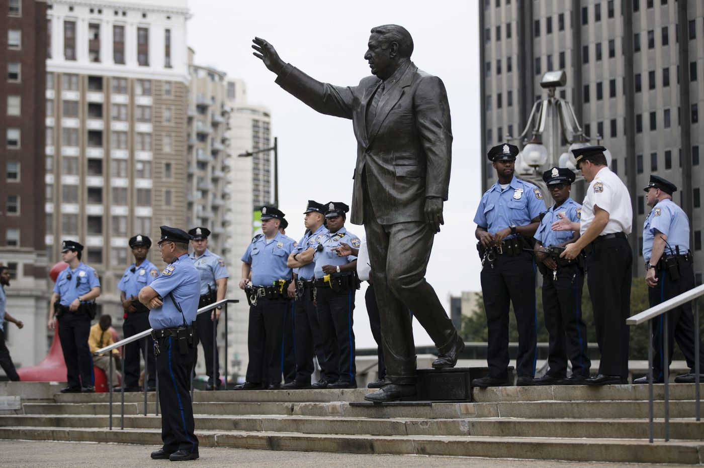 The Rizzo statue? It's staying put until after Kenney's 2019 reelection campaign   Clout