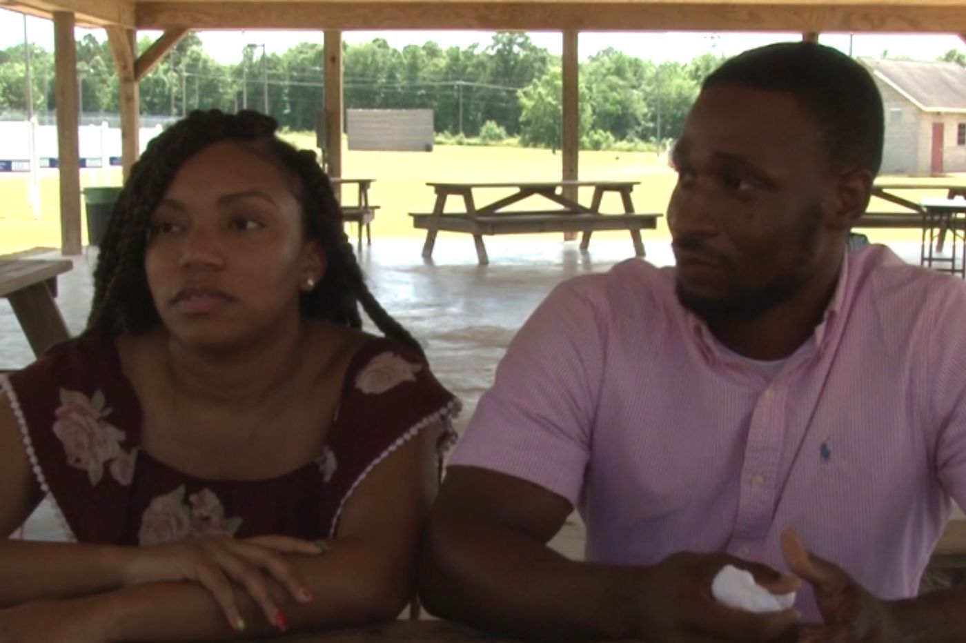 A black couple were having a picnic. Then a white campground manager pulled out a gun.