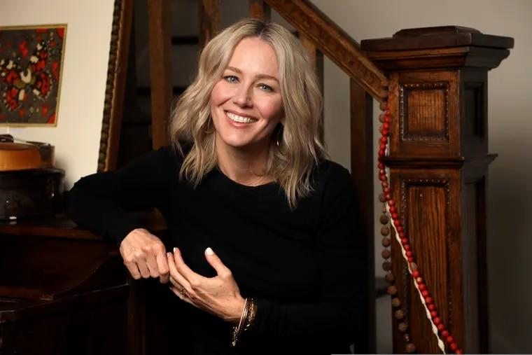 """Singer-songwriter Allison Moorer in Nashville, Tenn. to promote her memoir, """"Blood,"""" and her album of the same name."""