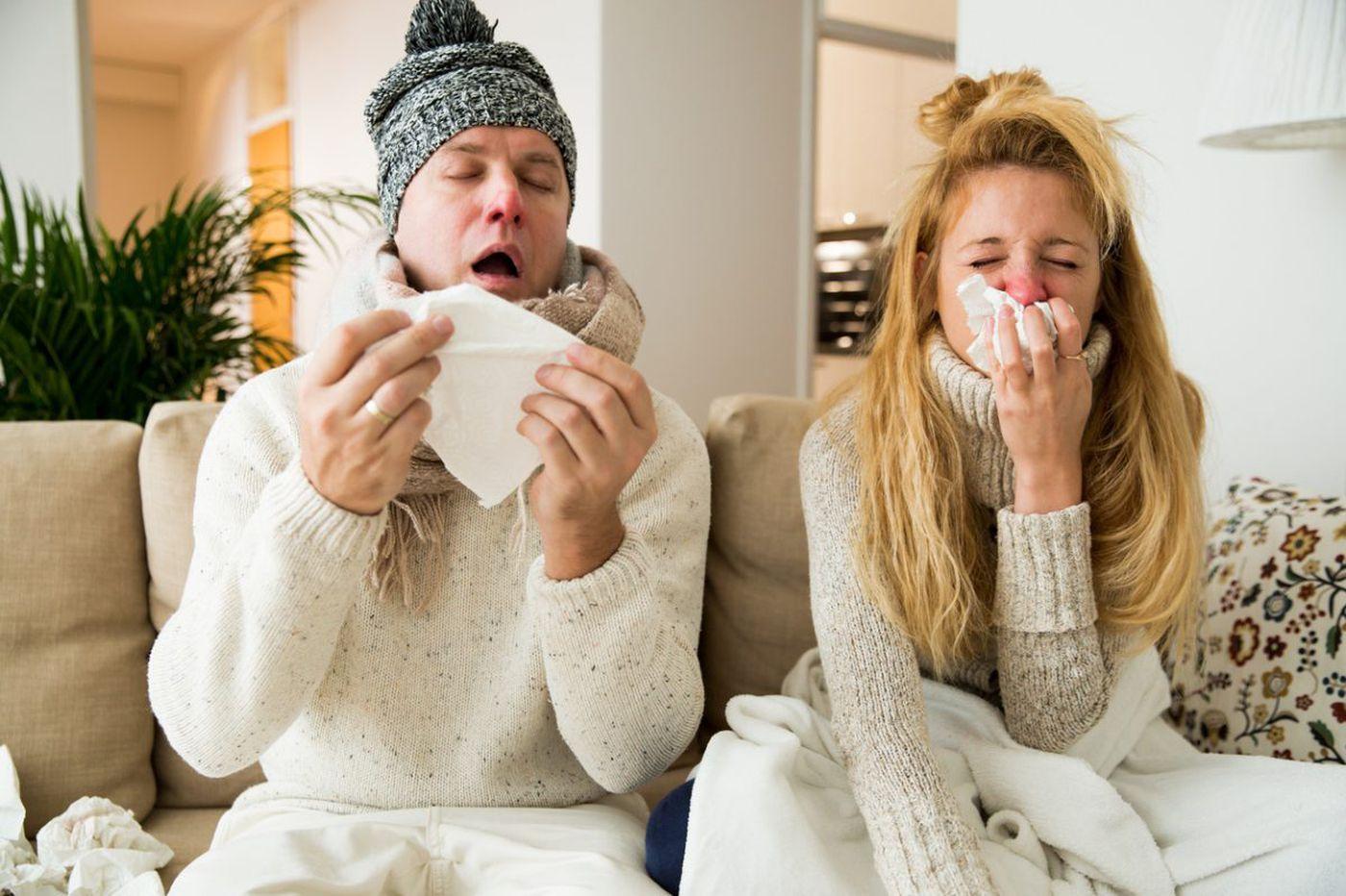 Flu has killed 7 in Pa. and N.J., but it's not the only virus making us sick
