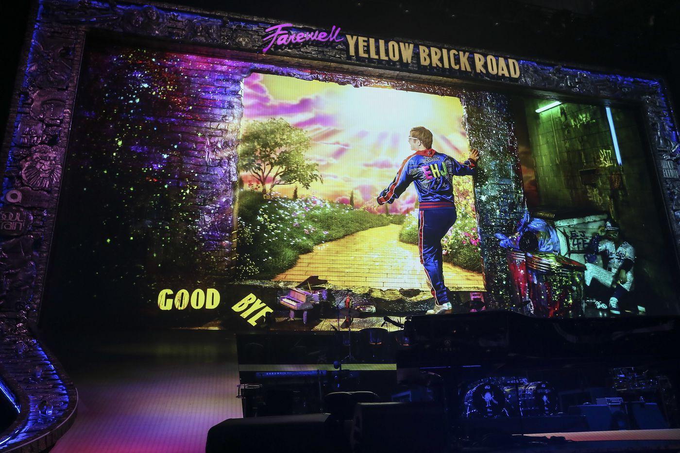 Review: Elton John says goodbye with 'Farewell Yellow Brick