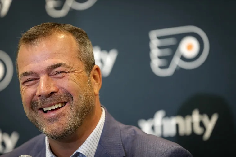 Coach Alain Vigneault will be trying to direct the Flyers to a longer playoff run this season.
