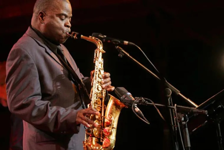 Saxophonist Maceo Parker played a two-hour funk set with a little jazz for fans at the Merriam Theater.