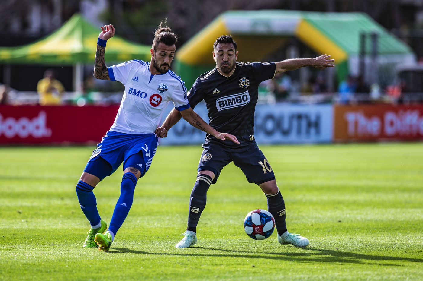 Marco Fabián makes Union debut in 1-0 preseason loss to Montreal Impact
