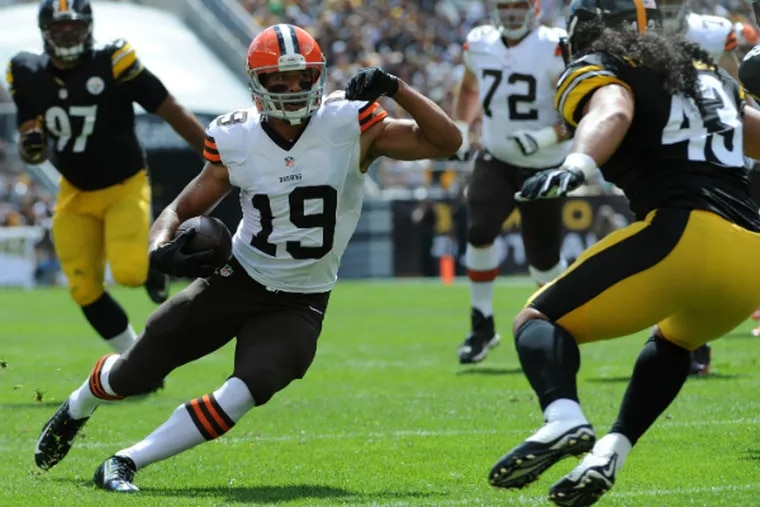 Miles Austin played only 12 games for the Browns last season.