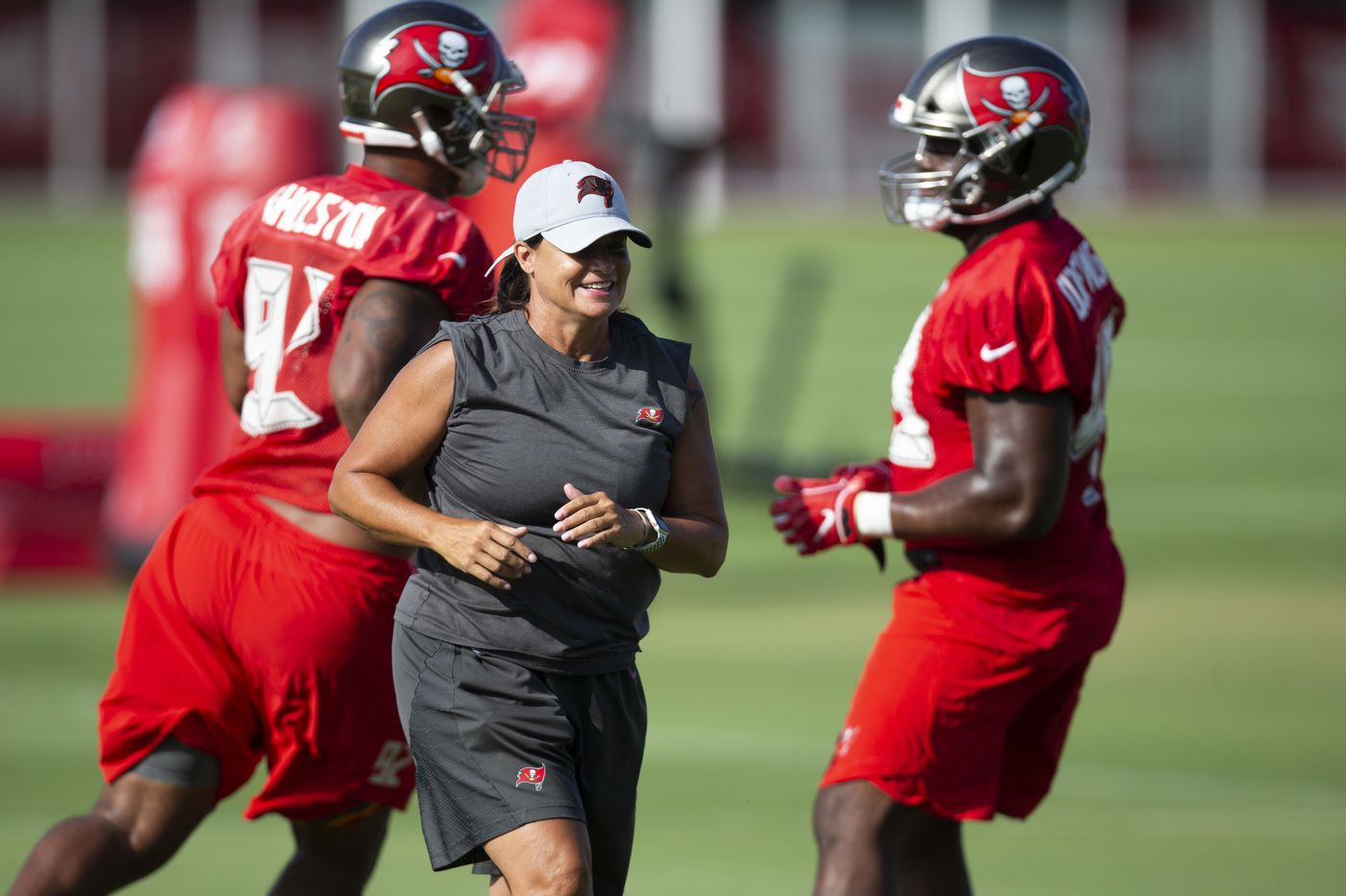 9f5b260ad3a8e Philly-born Temple product Lori Locust makes history as a female NFL coach  even if that ...