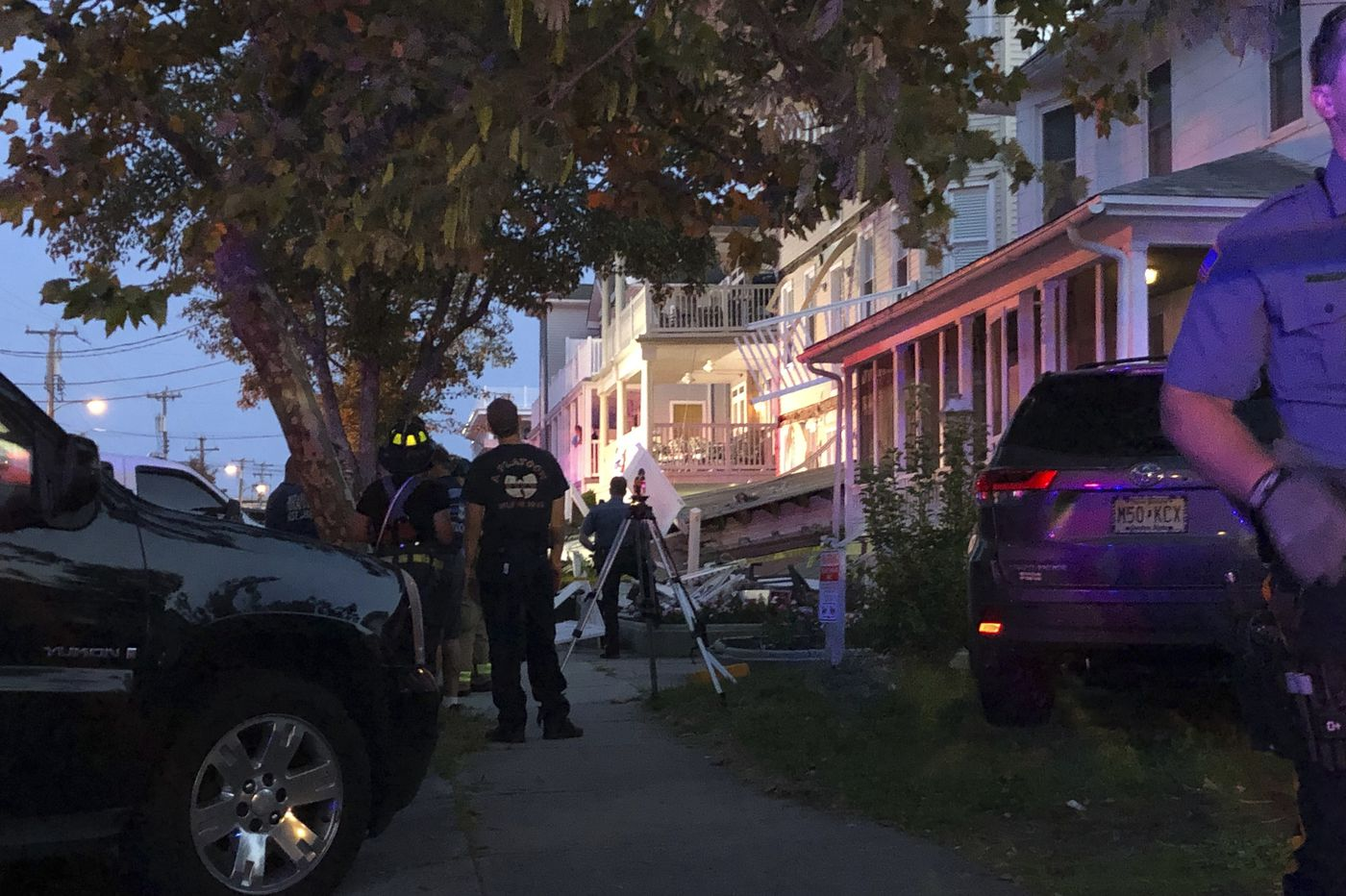 Wildwood deck collapse injures more than 20; one victim flown by medevac