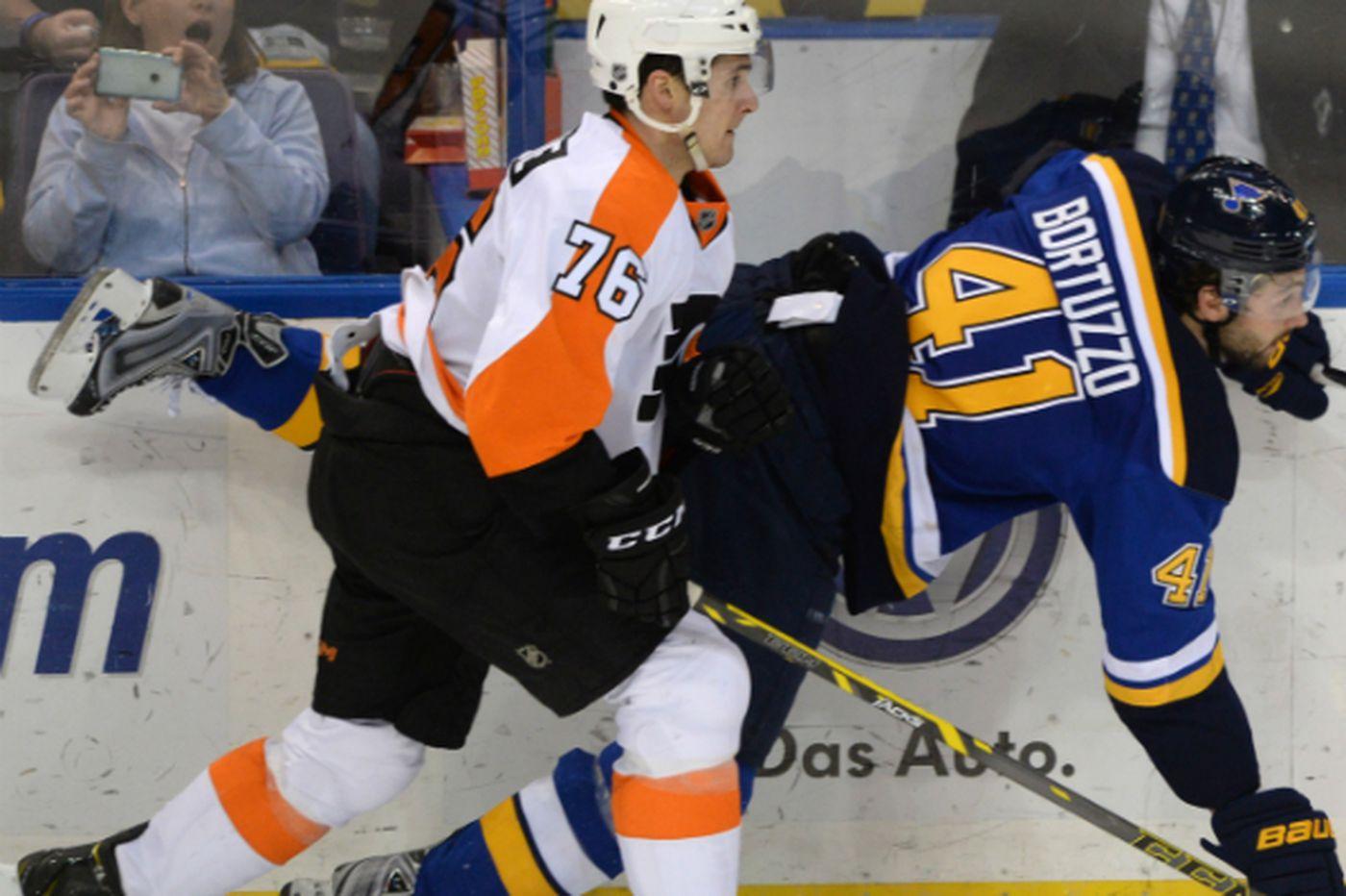 Deja vu gives Flyers the Blues