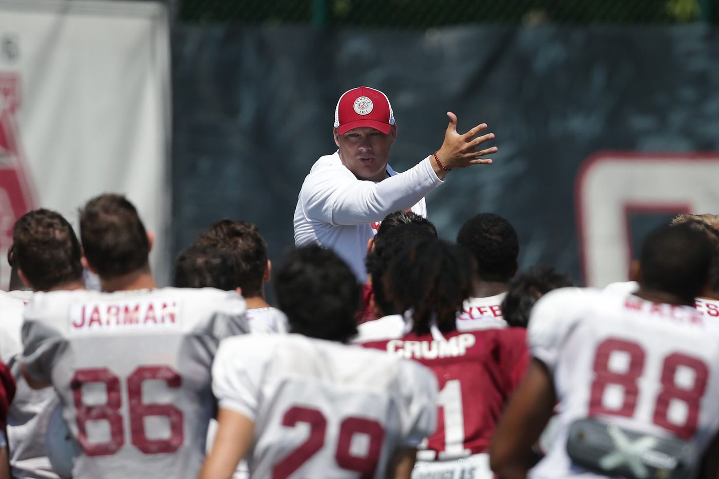 What Temple coach Geoff Collins is saying ahead of Saturday's opener against Villanova