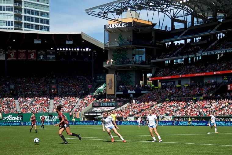 The Portland Thorns draw the NWSL's largest crowds to Providence Park, but the league as a whole needs more fans and sponsors.