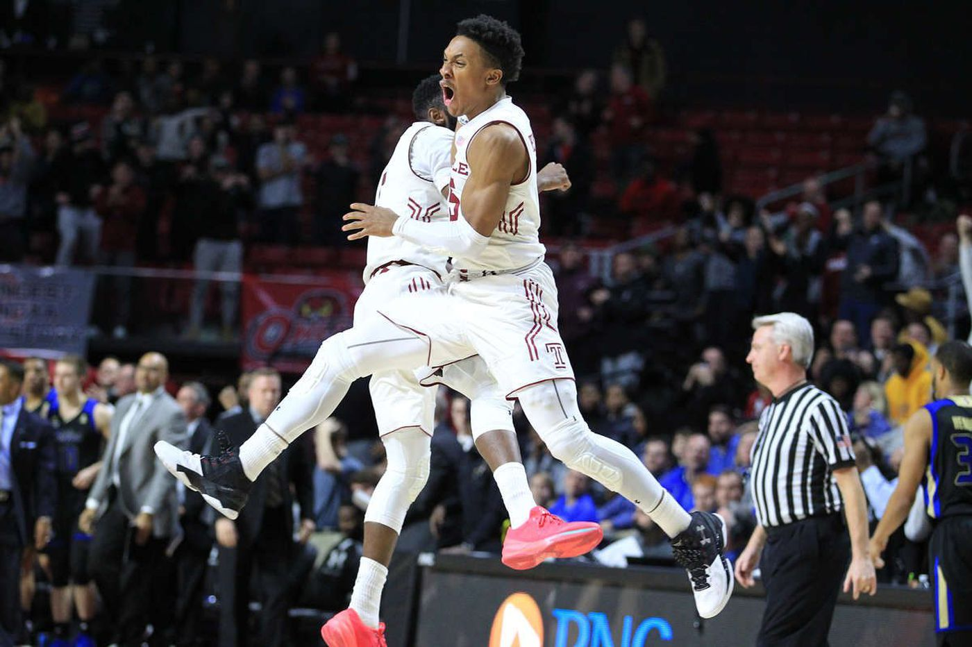 Temple edges Tulsa for a much-needed Liacouras Center win