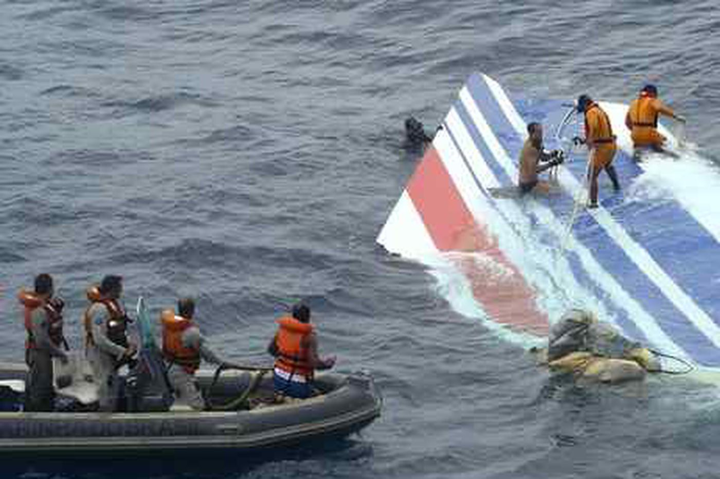 Vertical stabilizer retrieved