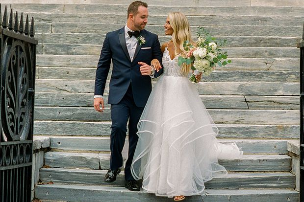 Philadelphia weddings: Heather Rittenhouse and Bob Rafferty Jr.