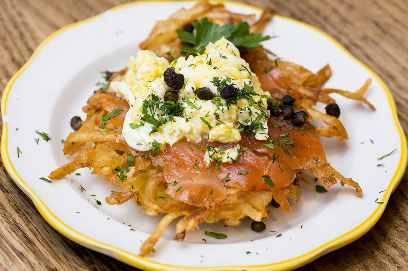 Add homemade lox to your latkes with deli-inspired Hanukkah ideas from Middle Child