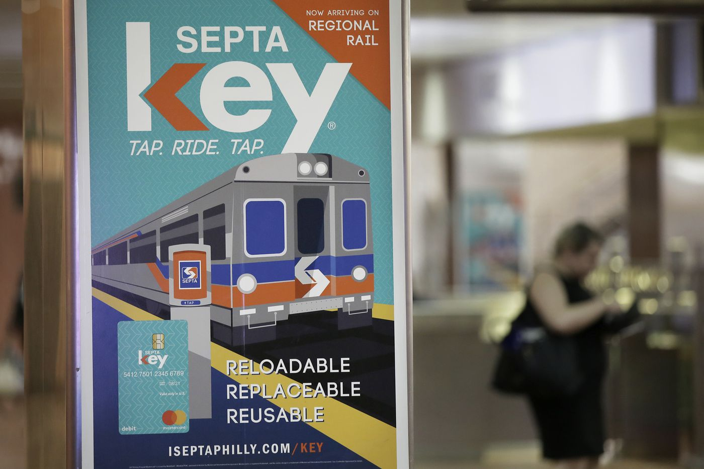 SEPTA Key's 'tap to exit' is expanding at Jefferson Station. Suburban Station is next.