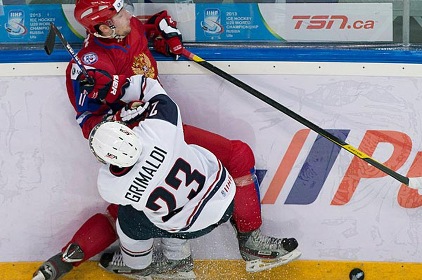 USA falls to Russia in World Junior Championships