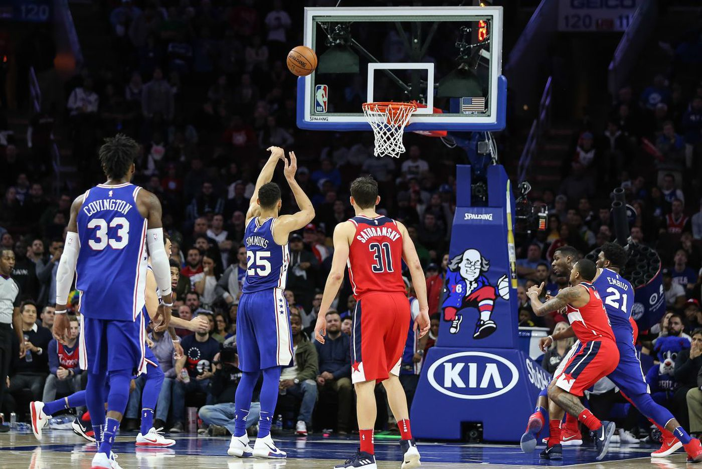 Sixers' Ben Simmons determined to become a better foul shooter