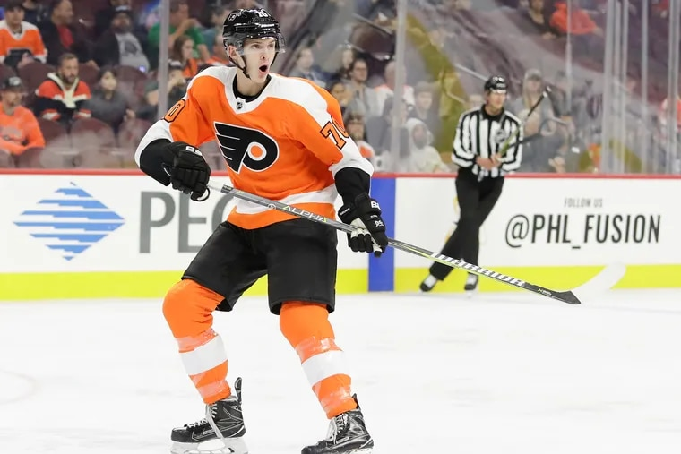 Flyers defenseman Egor Zamula has been impressive in rookie camp and will play in Wednesday's rookie game in Allentown.