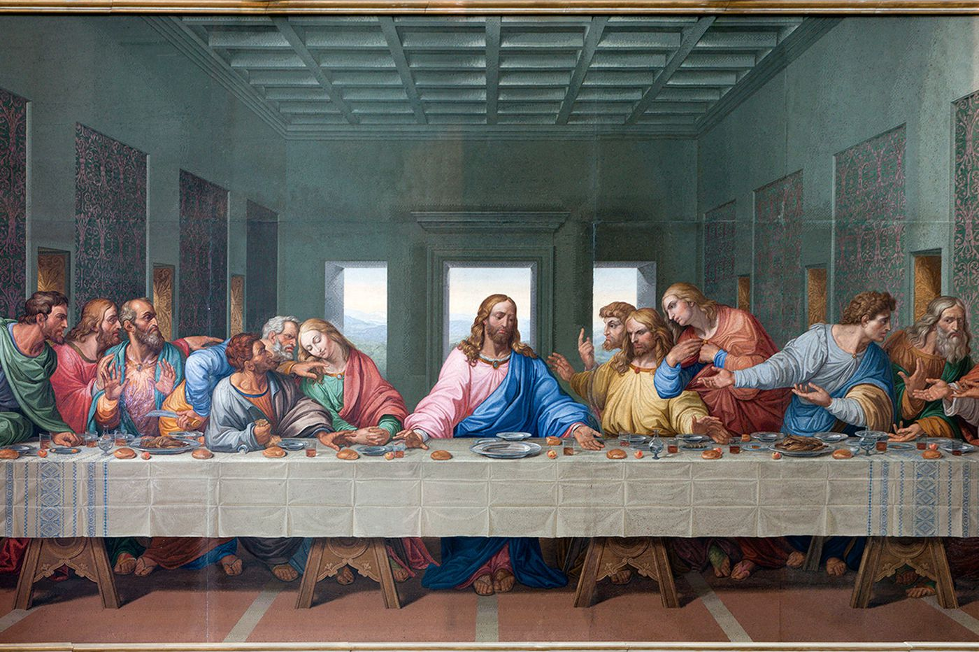 What wine did Jesus drink at the Last Supper?